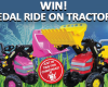 WIN! Pedal Ride On Tractors Photo